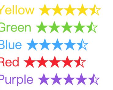 Small Rating Component For Vue 2.x
