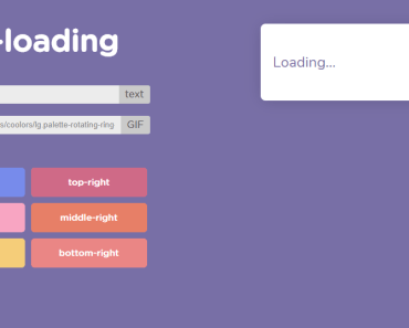 Customizable Vuejs Loading Component-min
