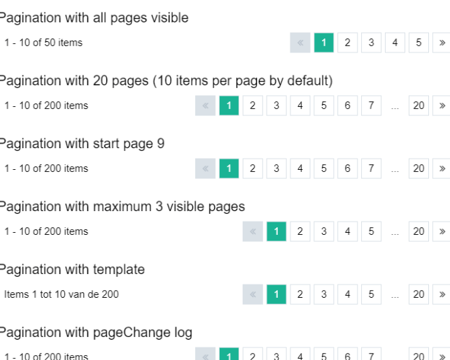 Vue js Pagination Components - Vue js Script