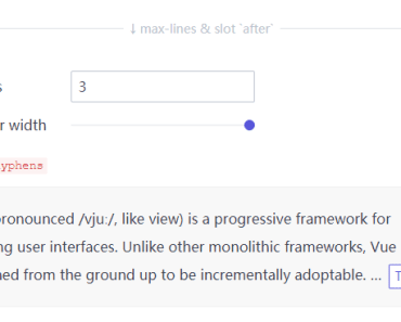 Clamping Multiline Text With Vue - vue-clamp