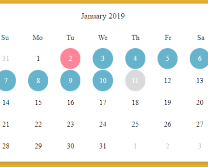 Vue js Component for Flatpickr Datetime Picker - Vue js Script