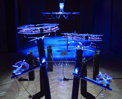 a solo exhibition 2010 Saturn Analogy of Trans Urgency Hyperdimensional Hexagon Theory-1