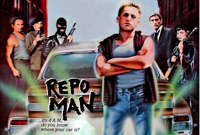 Repo Man -- Directed by Alex Cox