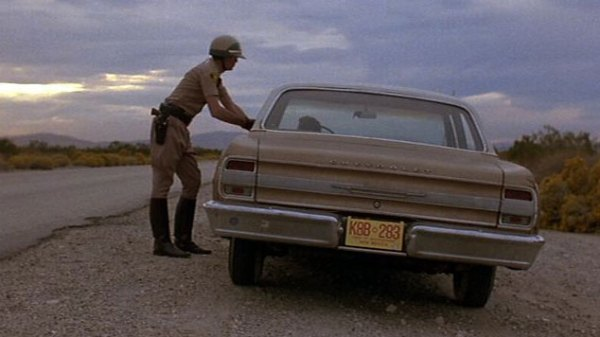 Cops stops Los Alamos Scientist