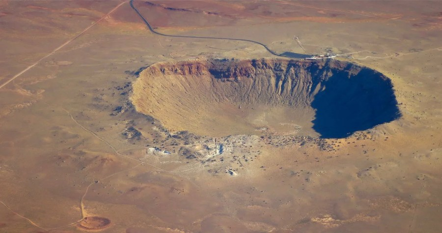 Barringer Meteor Crater -- photo by Steve Jurvetson