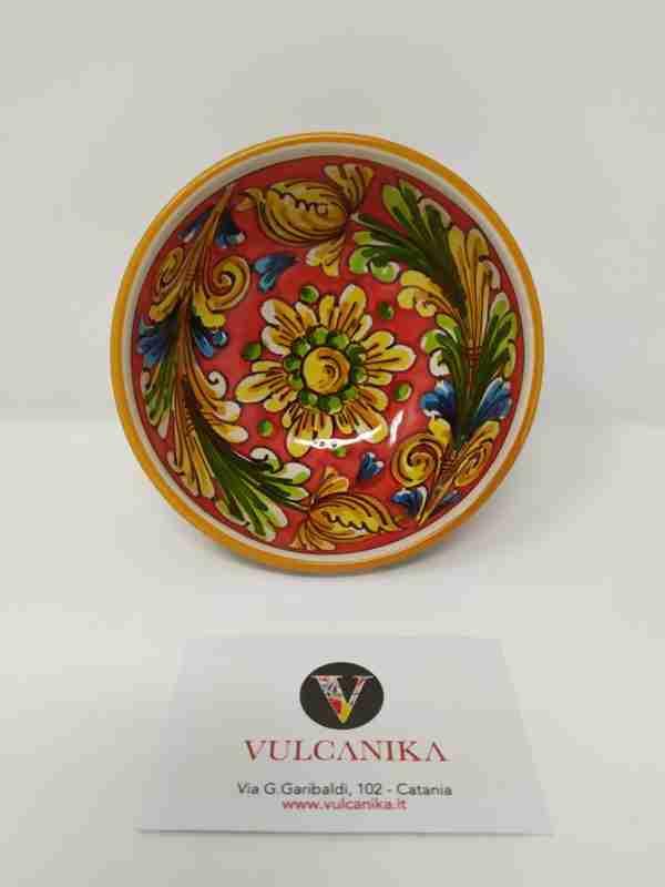 Ciotolina in Ceramica di Caltagirone