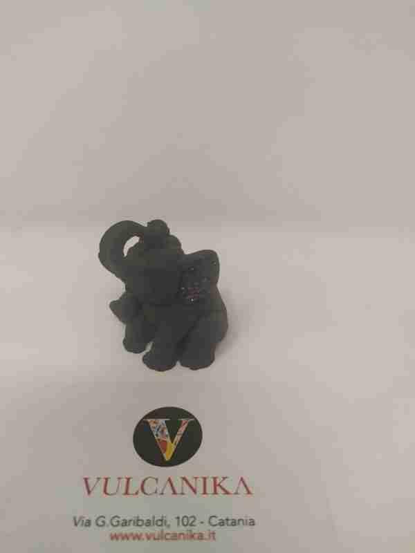 Elefante pietra lavica piccolo