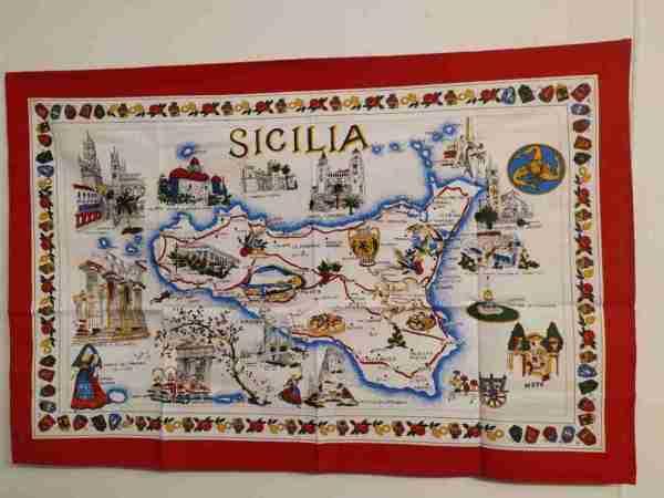Tovaglietta Sicilia in cotone