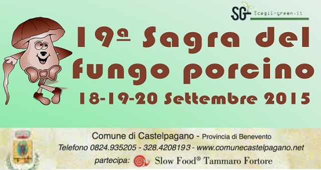 Sagra del Fungo Porcino a Castelpagano