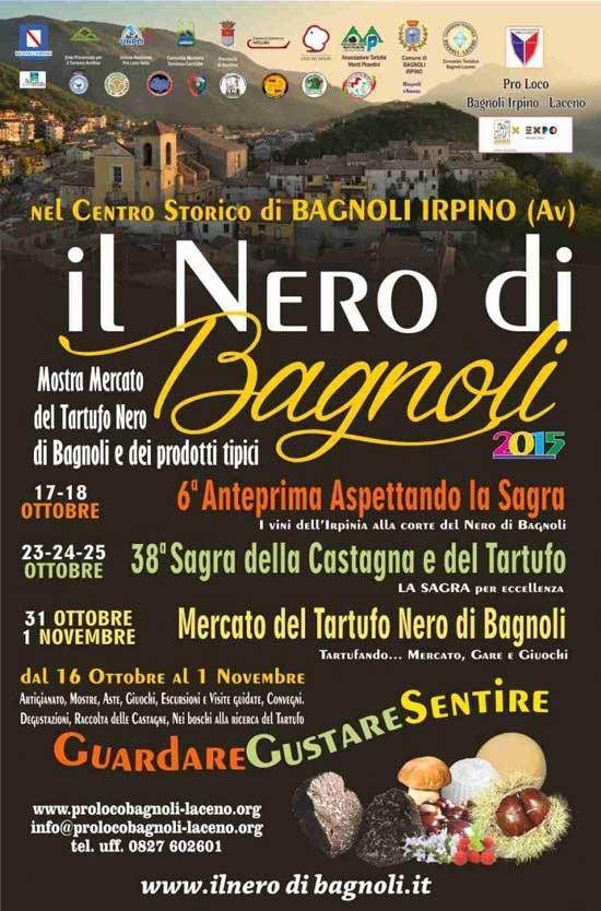 38 Sagra delle Castagne e del Tartufo nero a Bagnoli Irpino