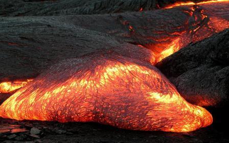 basische lava