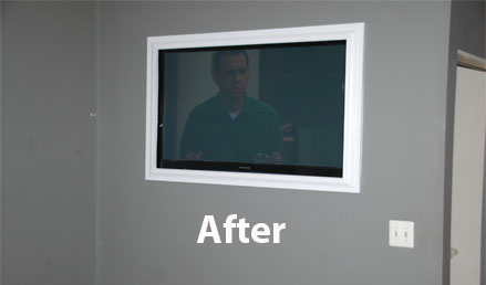 Image Result For How To Wall Mount A Flat Screen Tv