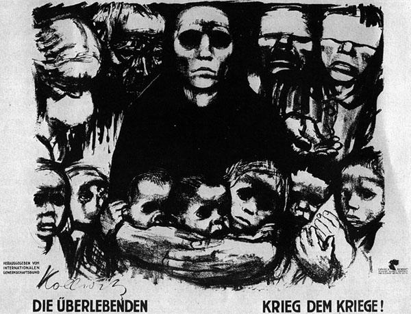 Krieg dem Kriege, by Käthe Kollwitz