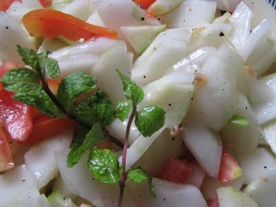 Mixed Apple Salad (মিক্সড আপেল সালাদ)