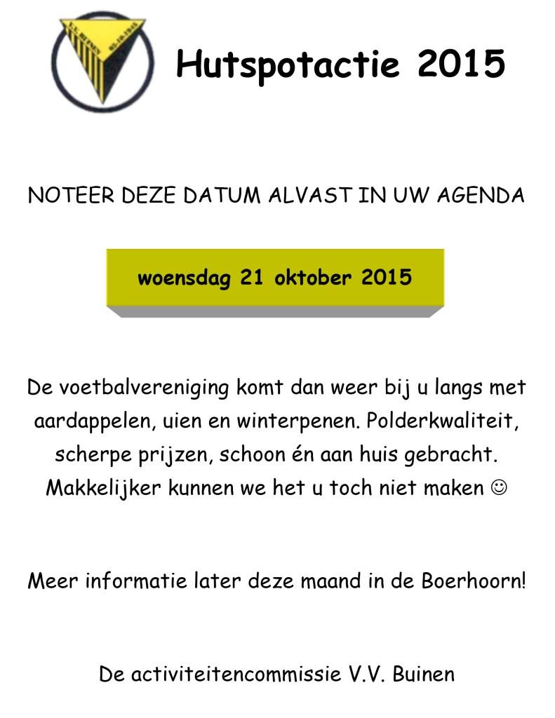 Microsoft Word - Vooraankondiging Hutspot aktie Boerhoorn 2014.d