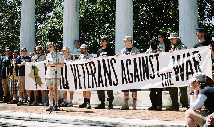Iraq veterans against the war