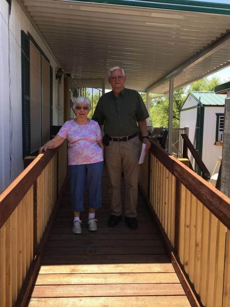 Thank  you to all the Companies who gave grant funding for Wheelchair Ramps....