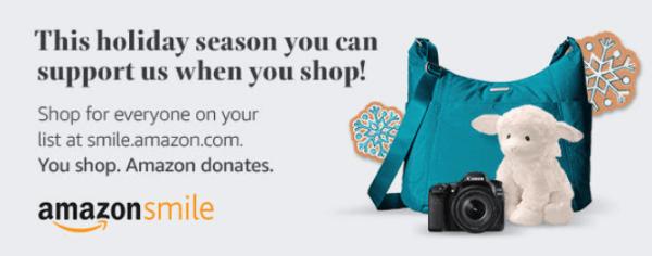 Tis' the shopping season, shop Amazon Smile and support a local non-profit