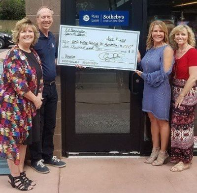Leading by example, two Realtors help support affordable workforce housing in Sedona/Verde Valley