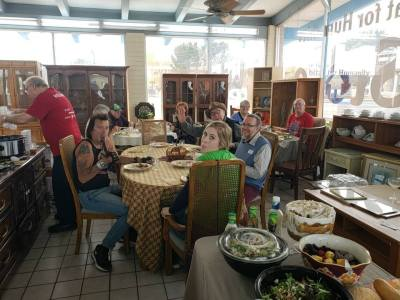 Verde Valley Habitat gathers to thank their volunteers