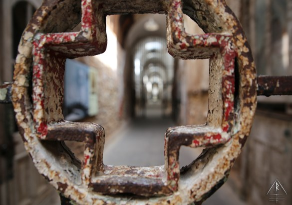 The medical wing of the Eastern State Penitentiary in Philadelphia, Pennsylvania.
