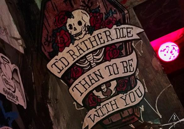 The Tattooed Mom on South Street, in Philadelphia, Pennsylvania.