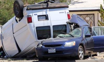 A family of five was killed on Mother's Day 2014 in Hesperia. (Gabriel D. Espinoza, Victor Valley News)