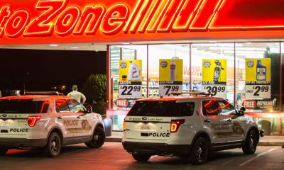 File photo of Auto Zone on Palmdale Road in Victorville (Photo by Gabriel Danny Espinoza, Victor Valley News)