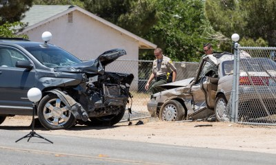 One woman was pronounced deceased at the scene following a Tuesday morning crash in Hesperia. (Hugo C. Valdez, Victor Valley News)
