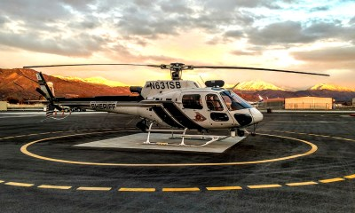 San Bernardino County Sheriff's helicopter 40King1. (Photo courtesy of SBSD Headquarters)