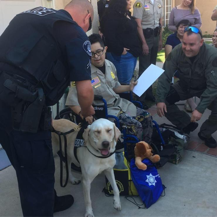 (Photo courtesy of San Bernardino Police Department)
