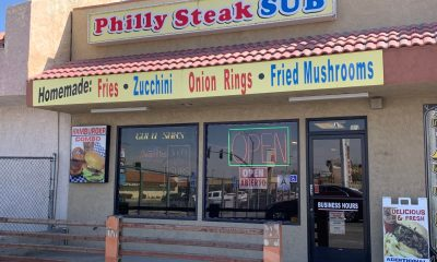 Philly Steak Sub in Hesperia plans to close by the end of June after their rent spiked. (Gabriel D. Espinoza, Victor Valley News)