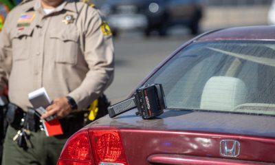 (VVNG.com undated file photo of a San Bernardino County Sheriff's Deputy on patrol)