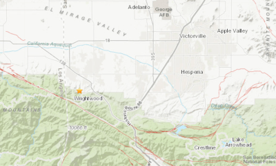 wrightwood earthquake 2.8