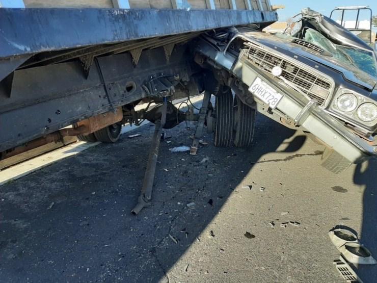 Ford Torino crash in victorville