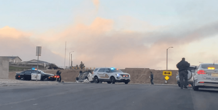 Ridgecrest and Bear Valley Road spring valley lake fatal crash