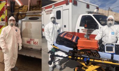 San Bernardino County Fire Crews Response for Medical Calls during COVID-19 Pandemic