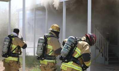 Hesperia mobile home fire