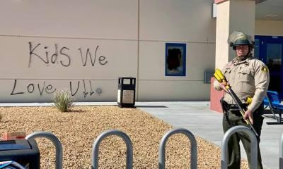 ICE Adelanto protest detention center