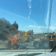 truck fire hesperia 15 freeway
