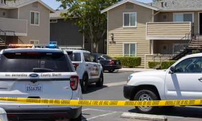 Two people were shot at the colony apartments in victorville