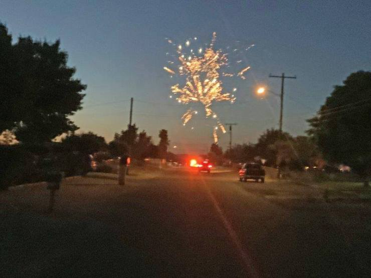 illegal fireworks in Victorville