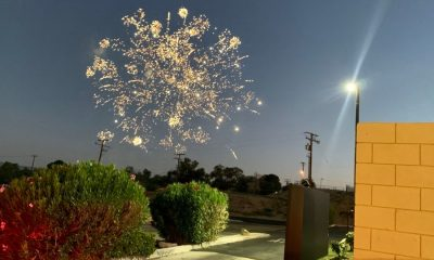 Illegal fireworks as seen from a Victorville drive-thru on the 4th of July.