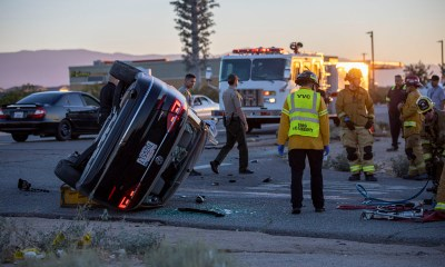 DUI Rollover crash in Victorville
