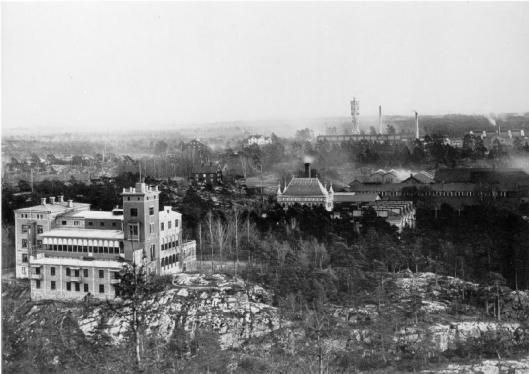 V:a verkstadsområdet NOHAB, före 1906