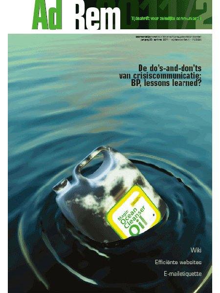 2011/2 – De do's and don'ts van crisiscommunicatie