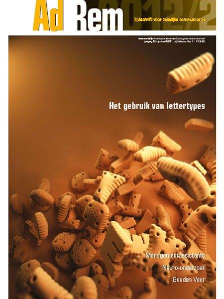 2012/2 – Het gebruik van lettertypes