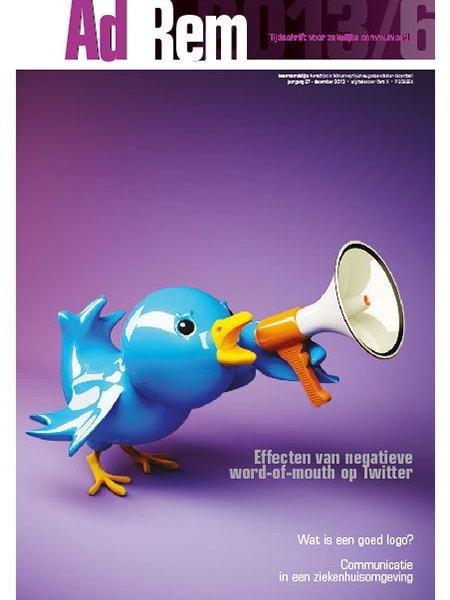 2013/6 – Effecten van negatieve word of mouth op Twitter
