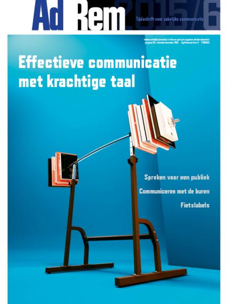 2015/6 – Effectieve communicatie met krachtige taal