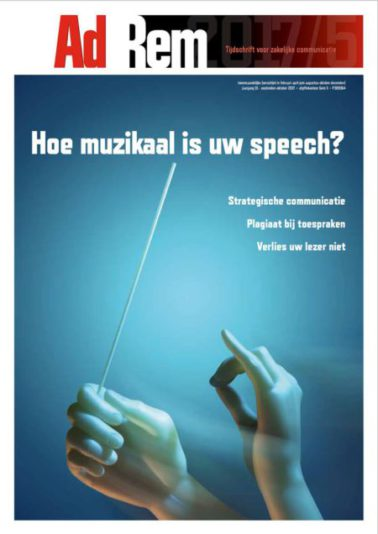 2017/5 – Hoe muzikaal is uw speech?